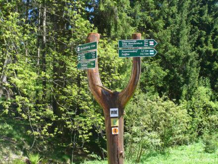 Wandern Rechenberg