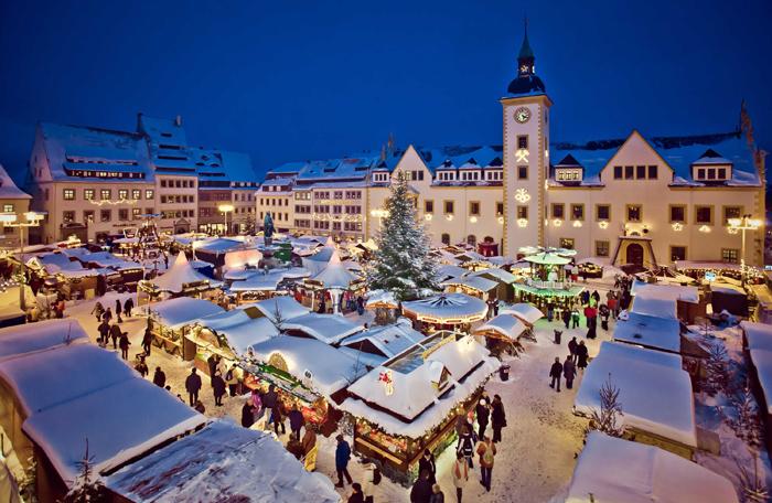 Christmarkt auf dem Obermarkt
