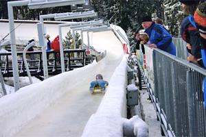 Rennschlitten und Bobbahn Altenberg