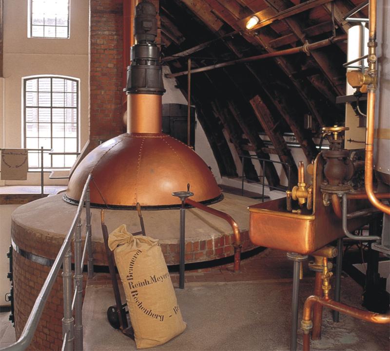 Historisches Sudhaus im Brauereimuseum Rechenberg