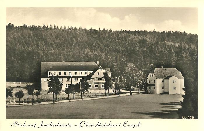 Fischerbaude in Holzhau um 1957