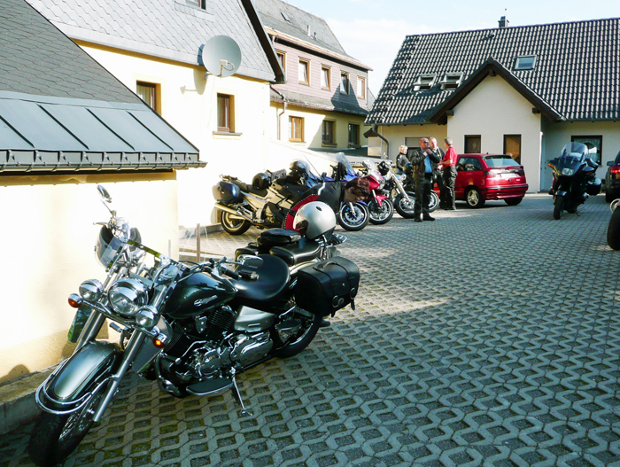 Traditionelles Bikertreffen in Holzhau