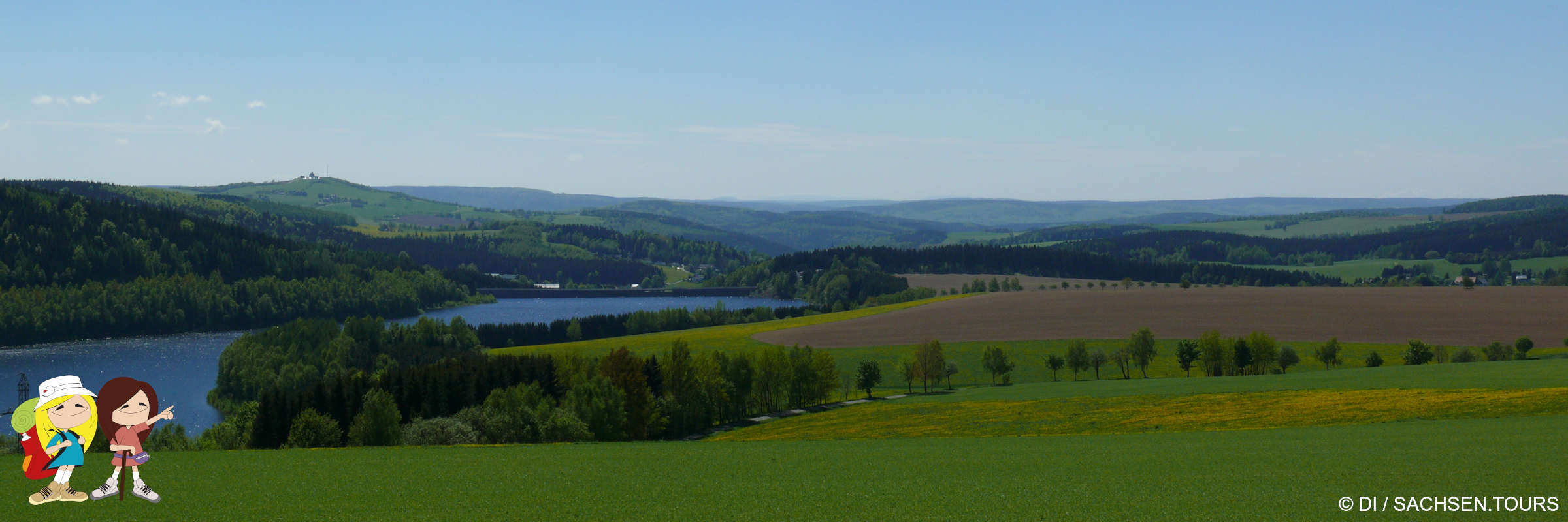 Talsperre Rauschenbach Panoramablick Foto©die-infoseiten.de