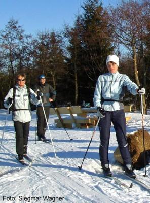 80 km gut gespurte Loipen